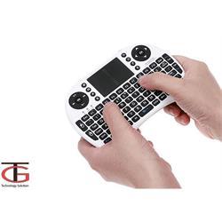 מקלדת + עכבר מגע משולב אלחוטי עברית- Hebrew mini keyboard למחשבים סמארט TV וטאבלטים