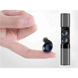 אוזניות כפתור סטריאו אלחוטיות TWS כולל מטען נייד עוצמתי מתאימות במיוחד להאזנה למוזיקה ומענה לשיחות