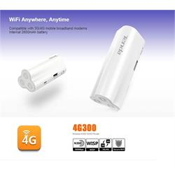 ראוטר סלולרי 4G נייד מאפשר הטענת סמארטפונים וטבלטים