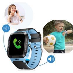 שעון טלפון חכם עם לחצן מצוקה אישי כולל אפשרות איתור מיידית תמיכה ב-IPHONE/ANDROID כולל שיחות טלפון