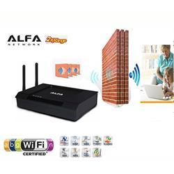 הסוף לניתוקים ולקשיי הקליטה! מגדיל טווח אינטרנט אלחוטי מבית ALFA עם טווח עצום עד 5 ק