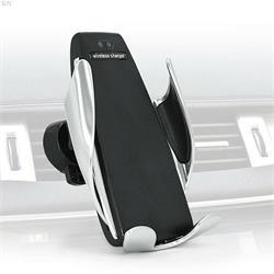 זרוע אוטומטית אוניברסאלית חכמה לרכב לכל סוגי הסמארטפונים משולבת מטען אלחוטי מהיר