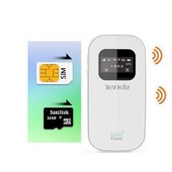 ראוטר אלחוטי נייד משולב מודם סלולארי SIM 3G מובנה