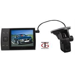 מצלמת רכב דואלית HD עם מצלמה אחורית ניתקת