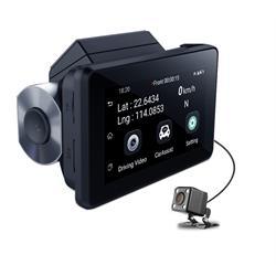 מצלמת דרך סלולארית GSM לרכב עם 2 עדשות קדימה ואחורה + חיבור אלחוטי מרחוק לסמארטפון!