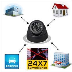 מצלמת אבטחה עצמאית אינפרא אדום עם הקלטה על כרטיס זיכרון DVR