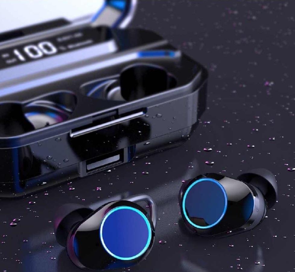 אוזניות כפתור TWS חדשות דגם 2020– חדש חדש!! עם צג דיגיטלי ו- POWER BANK מובנה